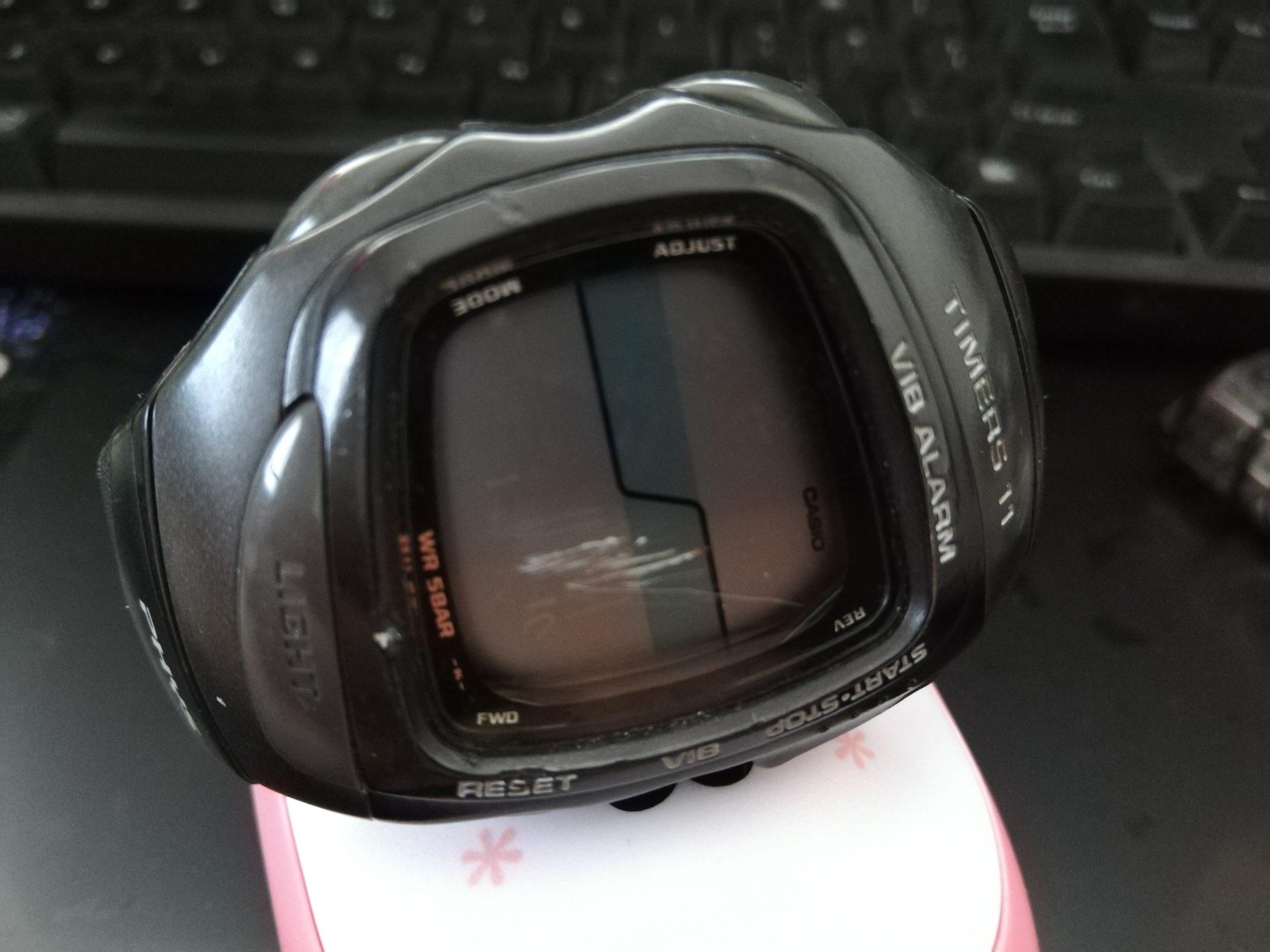 腕時計電池交換した