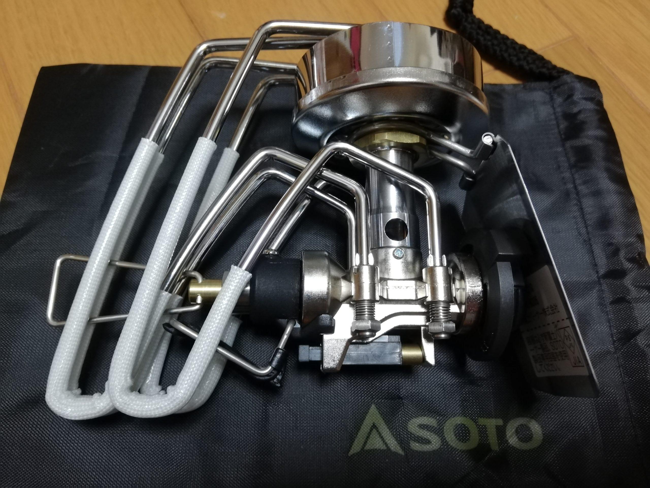 新富士バーナーSOTOレギュレーターストーブ ST-310購入(災害対応)