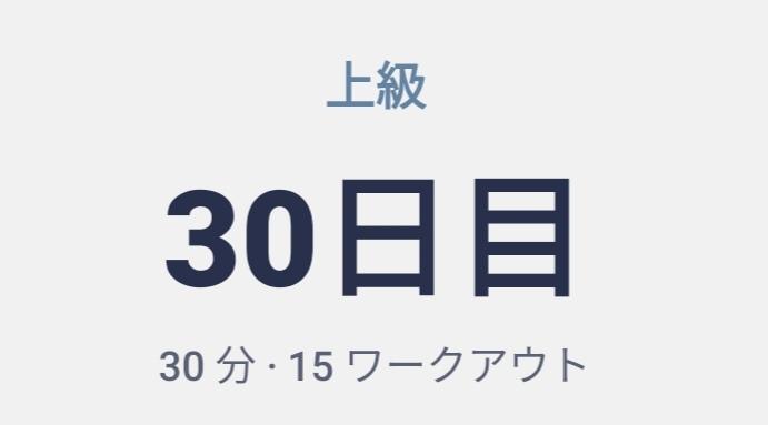 体幹トレーニング30日目(震える筋肉に快感を覚える)